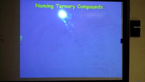 Thumbnail for entry Polyatomic Formulas