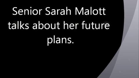 Thumbnail for entry 34-35 Sarah Malott