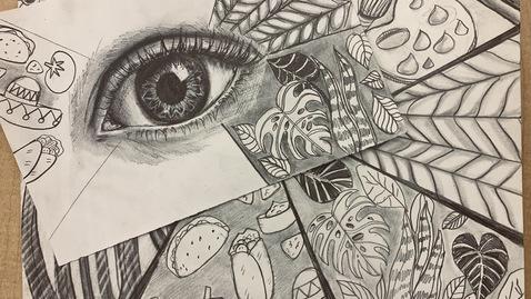 Thumbnail for entry Eye Self-Portrait