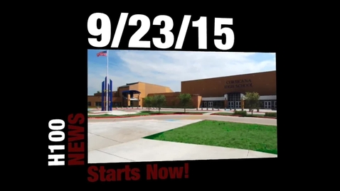 Thumbnail for entry CHS News from H100 Studio