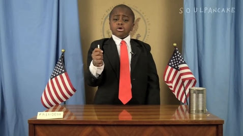 Thumbnail for entry Kid President - How To Change The World (a work in progress)