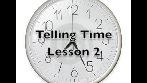 Thumbnail for entry How to Tell Time In Hebrew Part Two