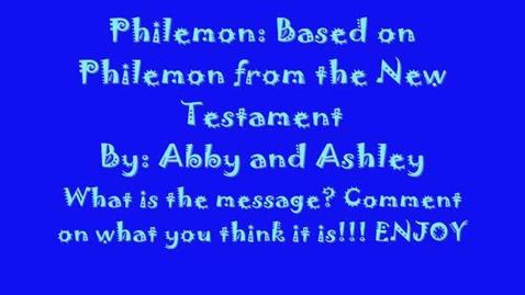 Thumbnail for entry Philemon