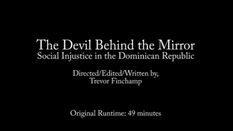 Thumbnail for entry The Devil Behind the Mirror