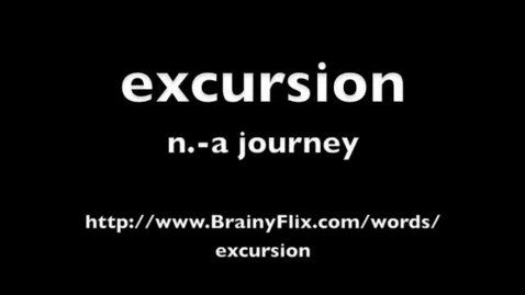 Thumbnail for entry excursion BrainyFlix.com Vocab Contest