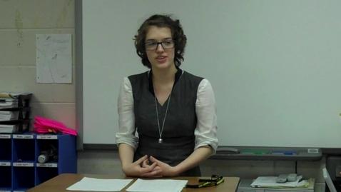 Thumbnail for entry Final Persuasive Speech for Mr. Gilbert's speech class -- Hayley Gerlach -- Spring 2012