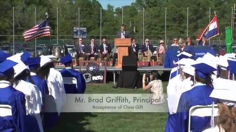 Thumbnail for entry Ladue H.S. 2014 Graduation - Acceptance (of Class Gift)