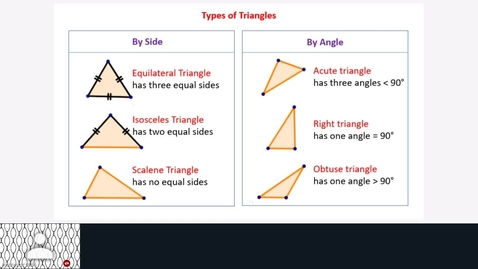 Thumbnail for entry Identifying triangles