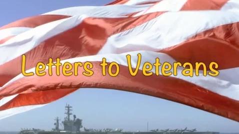 Thumbnail for entry Letter to Veterans 2015