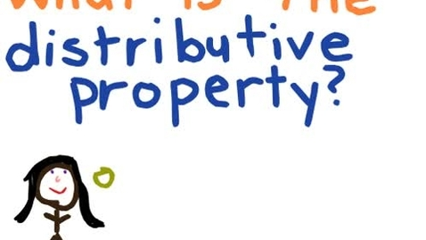 Thumbnail for entry Animated Math: The Distributive Property of Multiplication