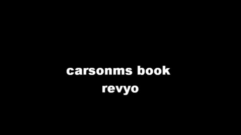 Thumbnail for entry 13-14 Hodges CarsonM's Book Review