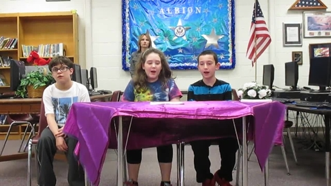 Thumbnail for entry Alb Morning Announcements 3-27-15