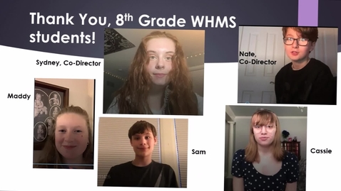 Thumbnail for entry WHMS Morning News   June 12, 2020