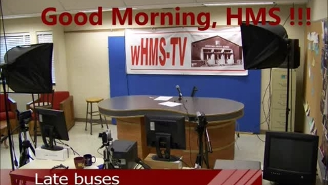 Thumbnail for entry 5-15-17 WHMS Morning News