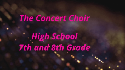 Thumbnail for entry Whiting Concert Choir