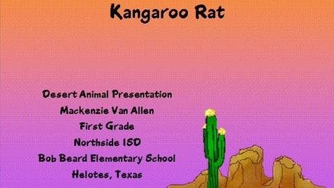 Thumbnail for entry The Desert Kangaroo Rat
