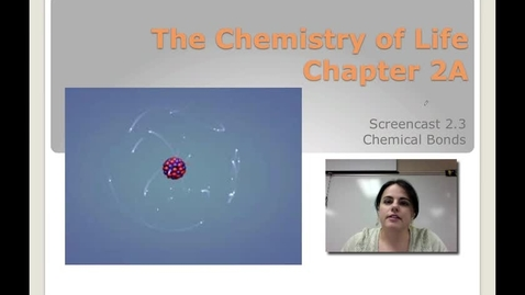 Thumbnail for entry Ch. 2A - Chemical Bonds