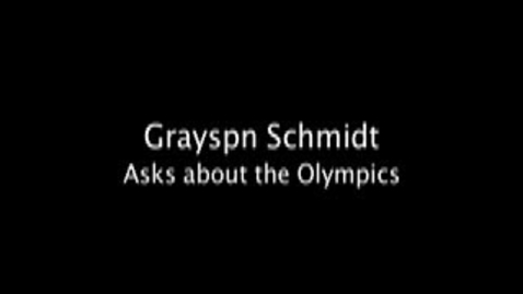 Thumbnail for entry Olympic Interview