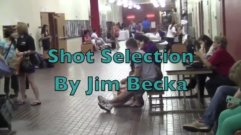 Thumbnail for entry Photography Video Shot Selection