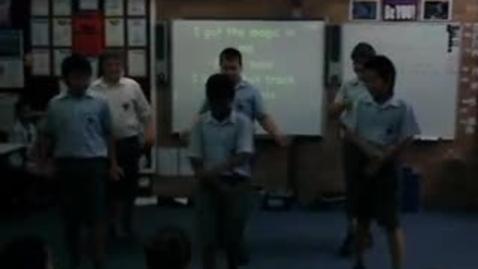 Thumbnail for entry Year 6 Term 1 Dance Assessments - Steven, Patrick, Gab, Harrisson B, Hamish and Harrison N