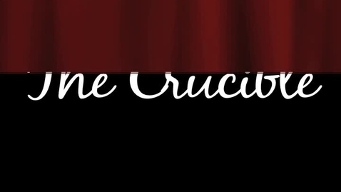 Thumbnail for entry The Crucible: End of Scene Three