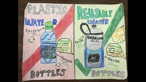 Thumbnail for entry Reusable Water Bottles at Tequesta Trace Middle School