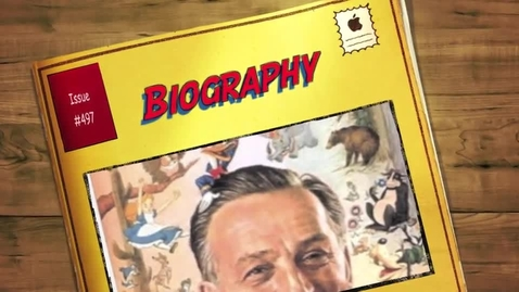 Thumbnail for entry Walt Disney Biography | Part One