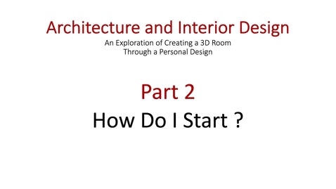 Thumbnail for entry Architecture and Interior Design Part 2