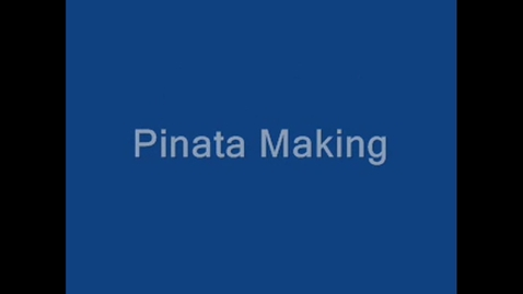 Thumbnail for entry How to Make a Pinata