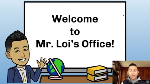 Thumbnail for entry Principal Loi's Message to Students: April 8, 2020