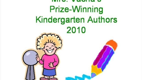 Thumbnail for entry Authors in Mrs. Vacha's Kindergarten Class