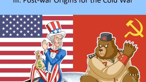Thumbnail for entry Honors US: Lecture 1 - Cold War