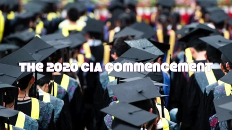Thumbnail for entry Clay International Commencement Ceremony- Part 2 The Commencement Part