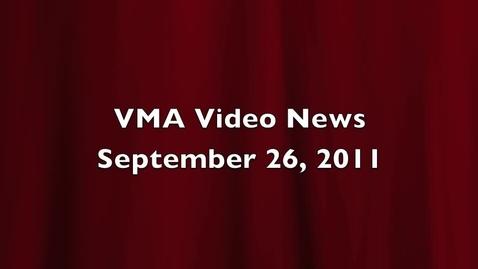 Thumbnail for entry VMA Video News Sep 26 2011