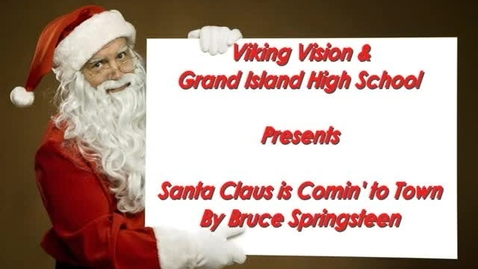 Thumbnail for entry Grand Island HS Holiday Music Video 2011-12