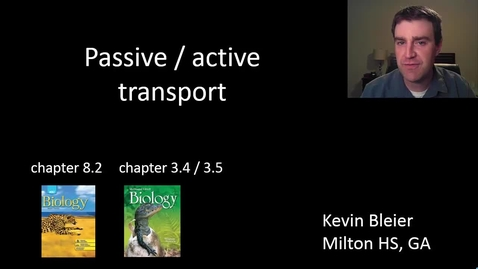 Thumbnail for entry Passive and active transport
