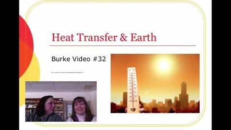 Thumbnail for entry Burke Video 32 Heat Transfer in Earth Layers