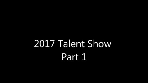 Thumbnail for entry PGE Talent Show 2017 (Part 1)
