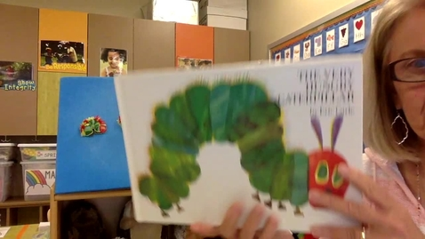 Thumbnail for entry Story time: The Very Hungry Caterpillar