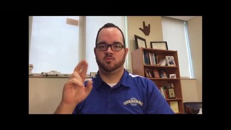 Thumbnail for entry ASL at OSD