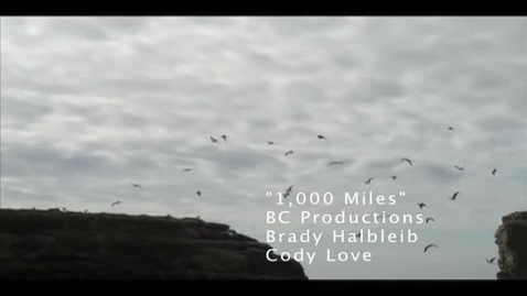 Thumbnail for entry 1000 Miles