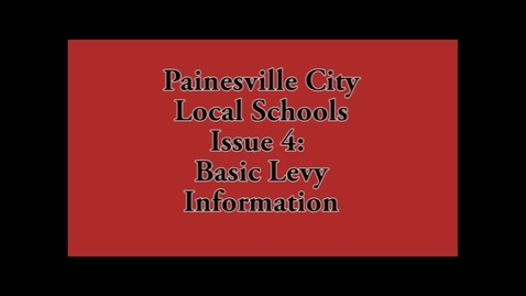 Thumbnail for entry Levy Info - PCLS Issue 4