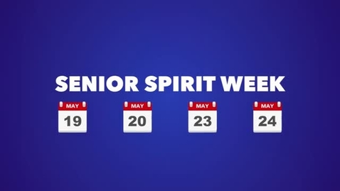 Thumbnail for entry Seniors at MHS final spirit week recap