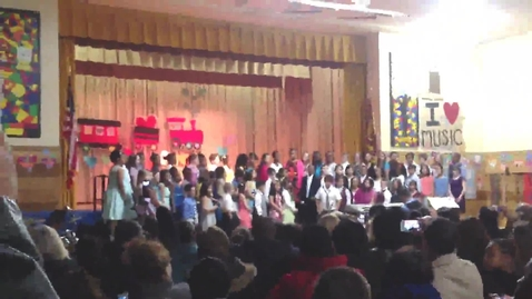 "Thumbnail for entry Plaza Elementary School - Select Chorus Grades 4&5 - ""I Just Called To Say I Love You"" (March 20, 2013)"