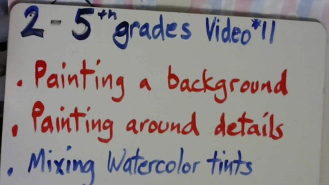 Thumbnail for entry 2nd thru 5th grade video #11