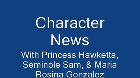 Thumbnail for entry Character News January 18, 2010