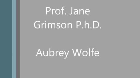 Thumbnail for entry Professor Jane Grimson PhD - Engineer