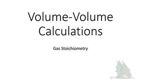 Thumbnail for entry Volume-Volume Calculations