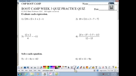 Thumbnail for entry BOOT CAMP WEEK 3 QUIZ PRACTICE QUIZ