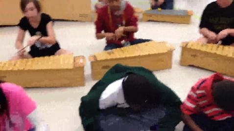 "Thumbnail for entry 14-15 Ms. Beardsley's 5th grade class ""Hot Cross Buns"""